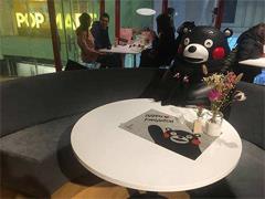 北京最大熊本熊咖啡厅落户王府井apm购物中心 已于12月9日试业