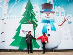 看还在升级中的上海世茂广场如何玩转圣诞营销!