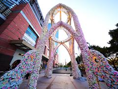 正佳广场打造花海殿堂 浪漫跨年地标亮相天河路商圈