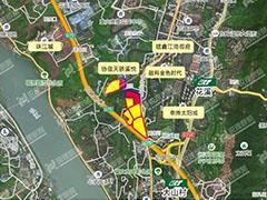2017重庆最后一宗地 中建三局底价26.84亿摘花溪河地块