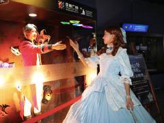 广州跨年大戏:正佳广场打造花海殿堂、车厢市集、人鱼秀…