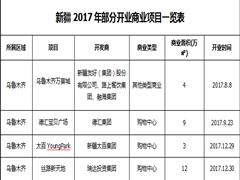 2017年度新疆商业项目开业报告:乌鲁木齐一枝独秀