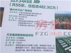 惠州第二家万达广场拟选址金山湖 投资35亿明年4月开工