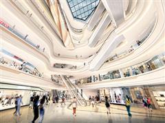 主体结构封顶招商率已逾70% 杭州大悦城将于2018年8月开业