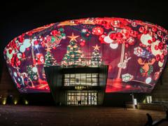 远洋乐堤港圣诞亮灯,用艺术与魔法带给杭州新奇体验!