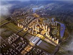 绿地集团投资240亿 开发万州高铁新城项目
