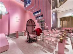 喜茶广州首家粉色主题店12月9日亮相天环广场 全国门店超80家