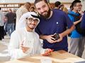 迪拜购物中心Apple Store正式开业  现场人气火爆
