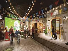 Line全球首家室内主题乐园进驻泰国暹罗广场 年底开业