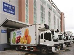 沃尔玛推蔬菜全程冷链配送 新鲜安全再升级