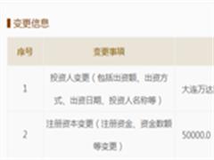 万达文旅城注册资本增加 为与融创632亿交易铺路?