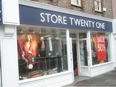 英国时尚连锁零售商Store Twenty One 122个门店关停