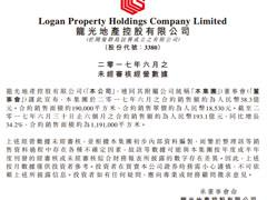 龙光地产2017年上半年销售额193.1亿 自持商业体量已达80万平