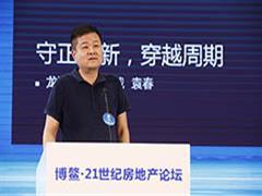 龙湖集团袁春:守正出新 房地产市场大有可为