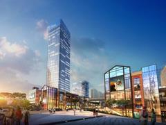 中迪红星商业广场打造双MALL三街一酒店 达州商圈将迎第三极
