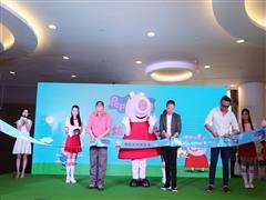 武汉荟聚中心吸引人流有妙招 小猪佩奇带动家庭前往