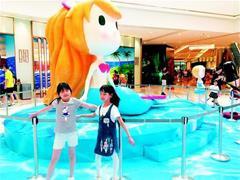 """武汉一商场引进动物主题乐园 """"宝贝经济""""呈现高端化趋势"""