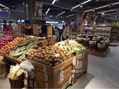 """生鲜超市扎堆""""跑马圈地"""" 重庆一个小区就有11家店!"""