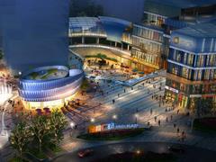 辽宁本溪金地广场商业综合体项目封顶 拟于明年10月前交付使用