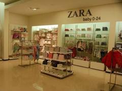 Zara拟精耕童装市场 进驻伦敦购物区开婴童装零售店
