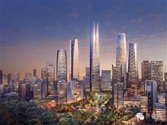 济南CBD集中挂牌9宗土地 要求最大地块配建260米高楼