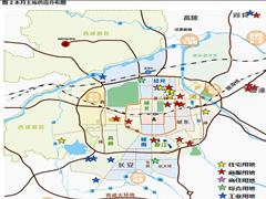 7月西安土地成交25宗共98.27万�O 沣东新城成交占68%