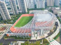 上海静安区7.13万�O体育中心竣工 将成大型城市综合体