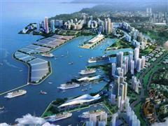 绿地将建24.3万�O上海国际邮轮港临江商业商务中心