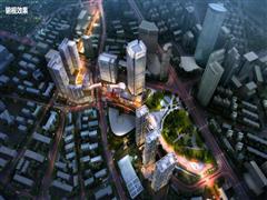 绿地扛起复兴湖南路商圈的大旗 城北缤纷广场预计年底正式开业