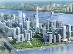 """南京江北区规划 在4平方公里CBD区规划""""1+N""""超高层矩阵"""