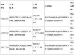 安徽阜阳阜合产业园推出31万�O商住地 10月31日出让