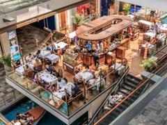 电商冲击下购物中心面积不降反升 餐饮、亲子业态销售增长迅猛