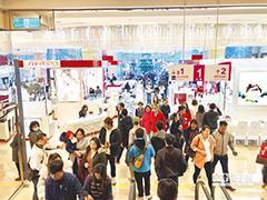 中台湾消费实力惊人 台中百货双雄2017吸金超300亿元