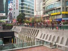 湖南路商业街最快今年底营业 将成南京最大地下商圈