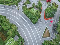 城市花园桂冠――日月广场三角梅广场