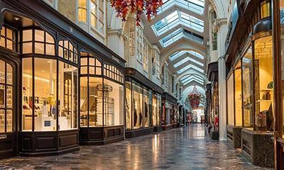 欧洲商业长廊能有哪些场景?展览、舞会...
