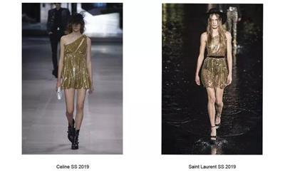 风格过于雷同 Celine在争抢Saint Laurent的市场?