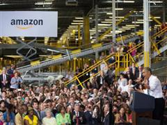 亚马逊为全美员工设定最低工资标准 会是双赢吗?