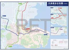 大连首张商业地图发布:商业项目共112个、区域商圈日益崛起