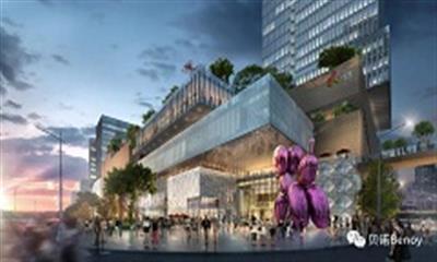 """武汉首座大悦城规划方案公布 以""""光""""为原点打造13万方商业"""