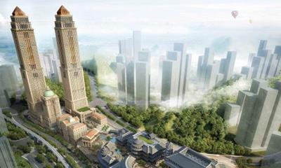 贵阳2号线沿线将建两个城市综合体 建筑面积逾7万�O