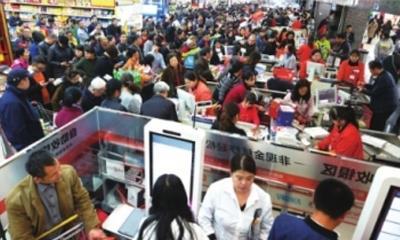 双11武汉人外出就餐指数全国第三 超市延时打烊、商场大力促销