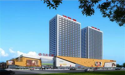 山东第17座万达广场今日开业  打造菏泽首家主题街区