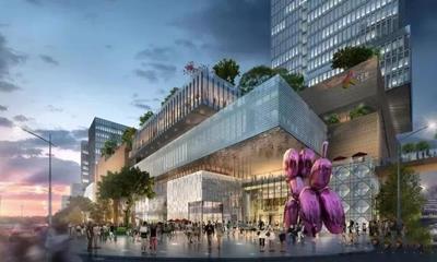 武汉光谷大悦城综合体开工 预计2021年12月开业