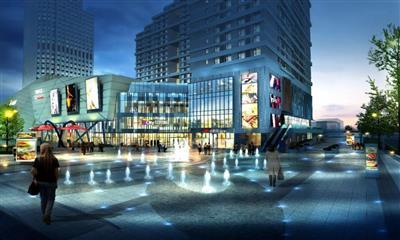 海绵宝宝首次亮相南京 11.30备受南京人期待的社区mall将开业