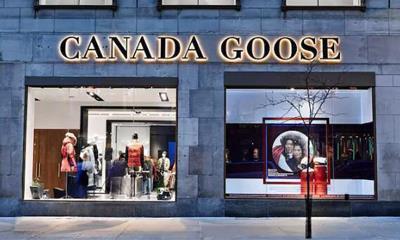 加拿大鹅在全球扩张直营零售店 配备零下25摄氏度的试衣间