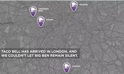 """百胜旗下塔可贝尔再次回归伦敦市区 把钟声""""借给了""""大本钟"""