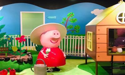 """瞄准""""IP动漫爆款+全产业链"""" 全球首个小猪佩奇室内主题乐园登陆上海"""