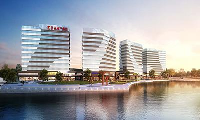 上海信业购物中心计划明年开业 嘉定首座滨水商业