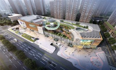 合肥商业屋顶空间打造匮乏 未来可期首座摩天轮购物中心将面世